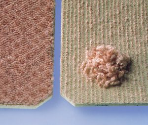 Textile floor covering manufacture: Methods for determination of mass (to ISO 8543) and determination of thickness of pile above the substrate (to ISO 1766)